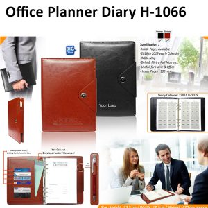 Office Planner Diary Organizer - H-1066