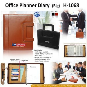 Office Planner Diary Organizer - H-1068