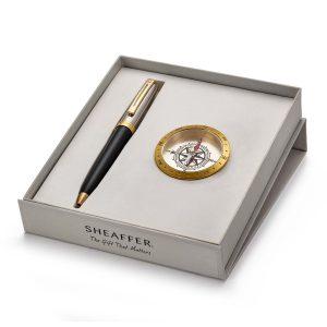 Sheaffer 337 Ballpoint Pen With Compass