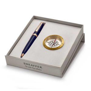 Sheaffer 9143 Ballpoint Pen With Compass