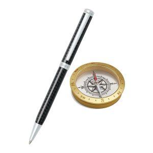 Sheaffer 9234 Ballpoint Pen With Compass