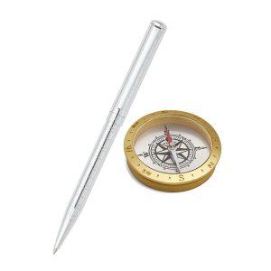 Sheaffer 9237 Ballpoint Pen With Compass