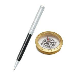 Sheaffer 9239 Ballpoint Pen With Compass