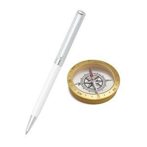 Sheaffer 9240 Ballpoint Pen With Compass