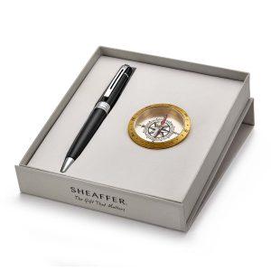 Sheaffer 9312 Ballpoint Pen With Compass