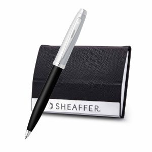 Sheaffer 9313 Ballpoint Pen With Business Card Holder Rs. 1500