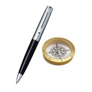 Sheaffer 9314 Ballpoint Pen With Compass