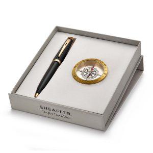 Sheaffer 9322 Ballpoint Pen With Compass