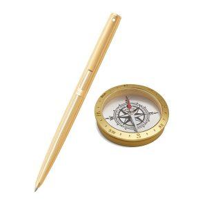 Sheaffer 9474 Ballpoint Pen With Compass