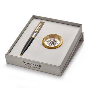 Sheaffer 9475 Ballpoint Pen With Compass