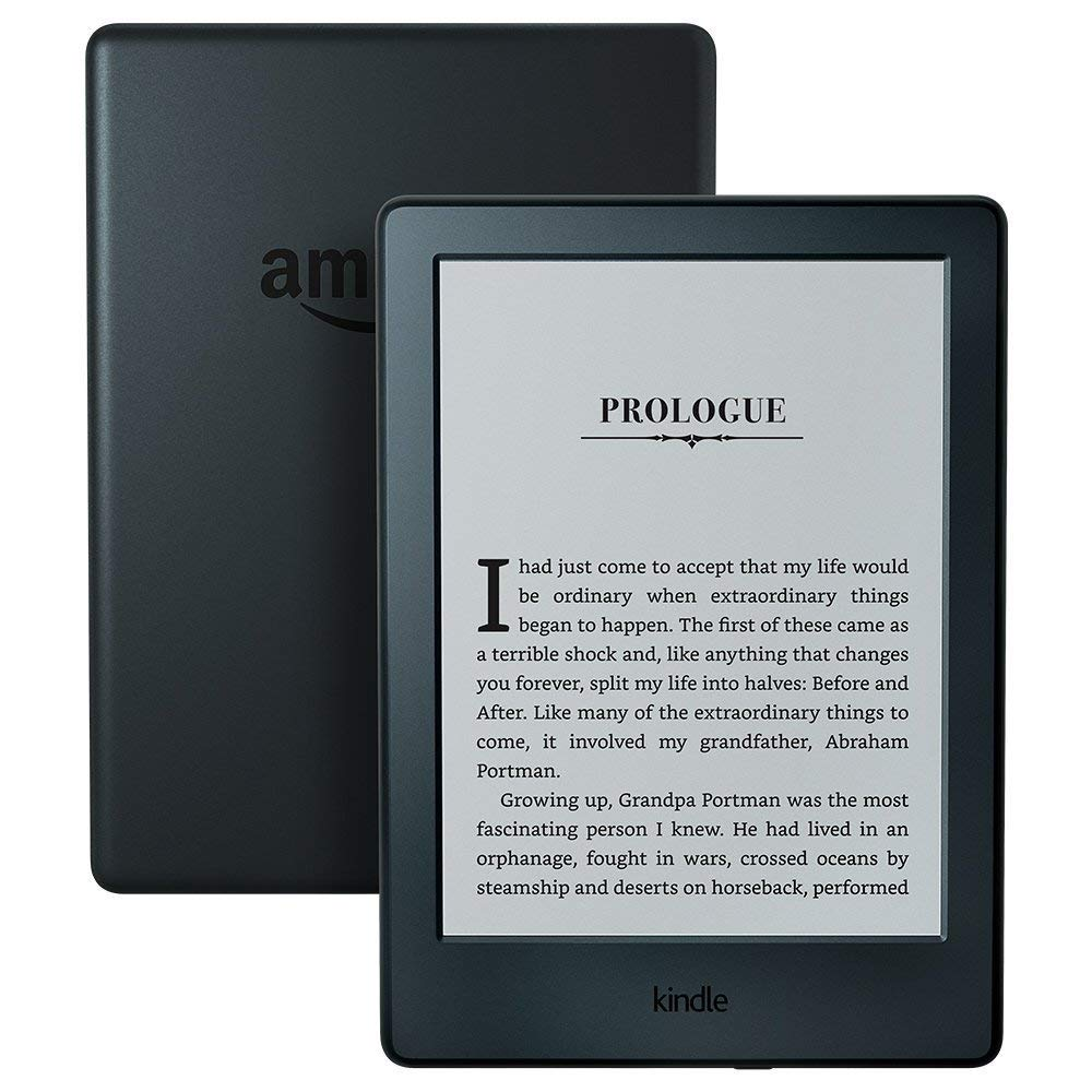 All-New Kindle E-reader - Black, 6inch Glare-Free Touchscreen Display, Wi-Fi