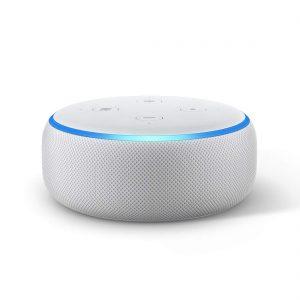 All-new Amazon Echo Dot (3rd Gen) - Smart speaker with Alexa (White)