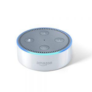 Amazon Echo Dot (2nd Gen) - Smart speaker with Alexa (White)