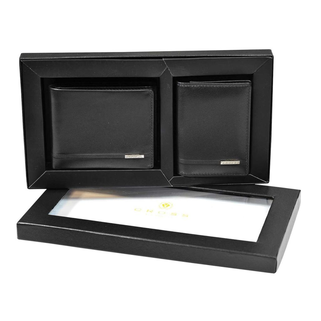 Classic Century Coin Wallet + Folded Card Case Set 4199