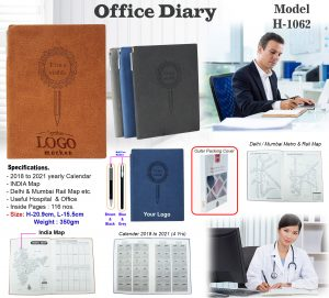 Office Notebook Diary - H-1062