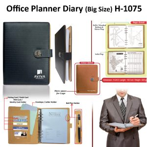 Office Planner Diary Organizer - H-1075