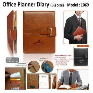 Office Planner Diary Organizer - H-1069