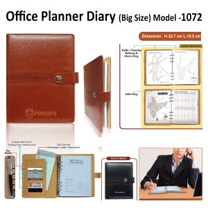 Office Planner Diary Organizer - H-1072