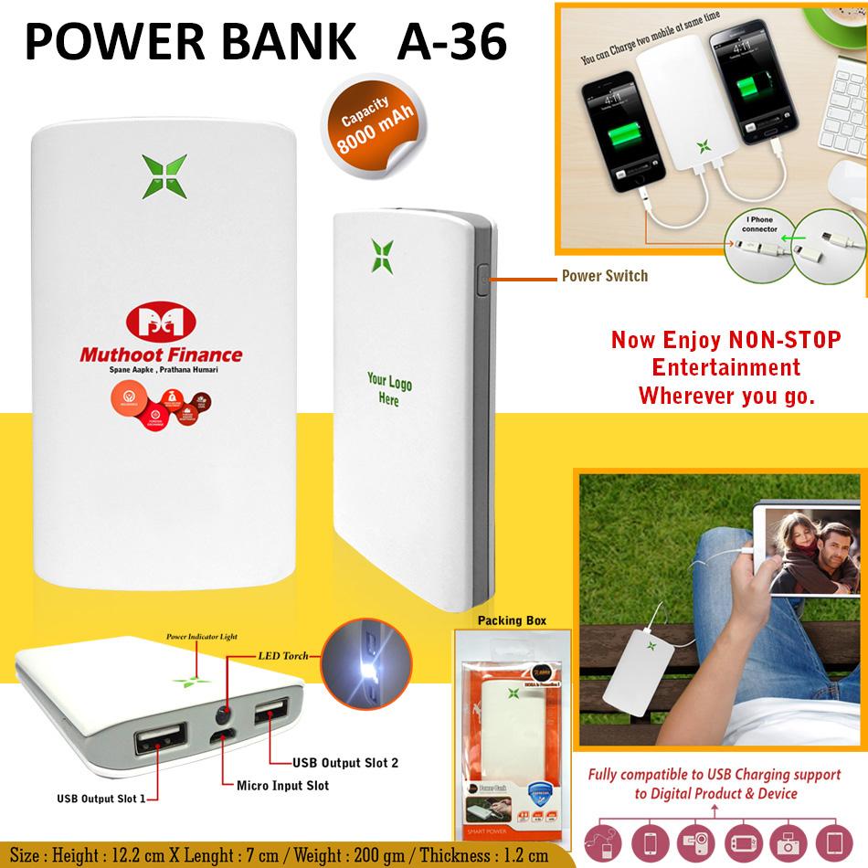 Power Bank A-36