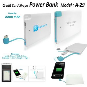 Power Bank A29 2200mah