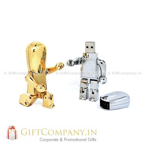 Robot Man Shape USB Pendrive