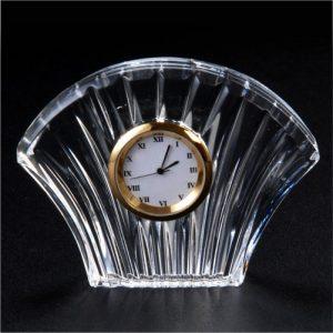 Sansu Crystal Glass Desk Clock