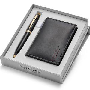 Sheaffer 100 9322 Ballpoint Pen With Multipurpose Card Holder
