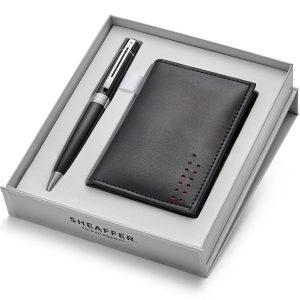Sheaffer 300 9312 Ballpoint Pen With Multipurpose Card Holder