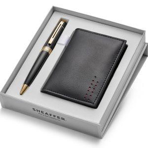Sheaffer 300 9325 Ballpoint Pen With Multipurpose Card Holder