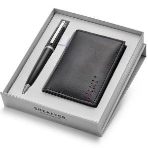 Sheaffer 500 9332 Ballpoint Pen With Multipurpose Card Holder