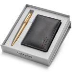 Sheaffer Sagaris 9474 Ballpoint Pen With Multipurpose Card Holder Rs. 2400
