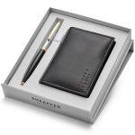 Sheaffer Sagaris 9475 Ballpoint Pen With Multipurpose Card Holder Rs. 2400
