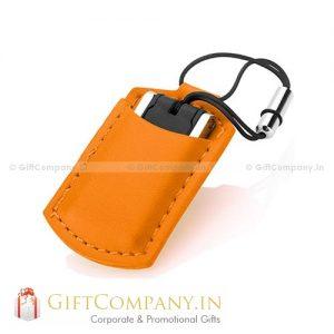 USB Mini Leather Pouch USB Flash Drive