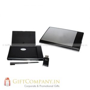 3 in 1 - Card Holder, Pen & USB Pendrive