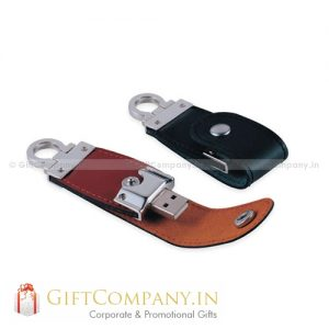 Leather Clip USB Pendrive