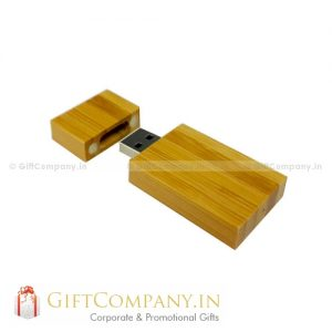 Wooden Rectangle USB Pendrive