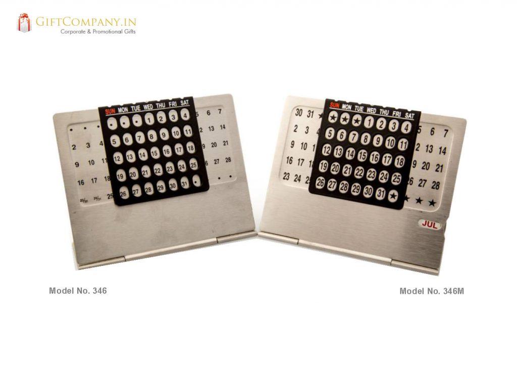 Perpetual Calendar Steel - Model 346