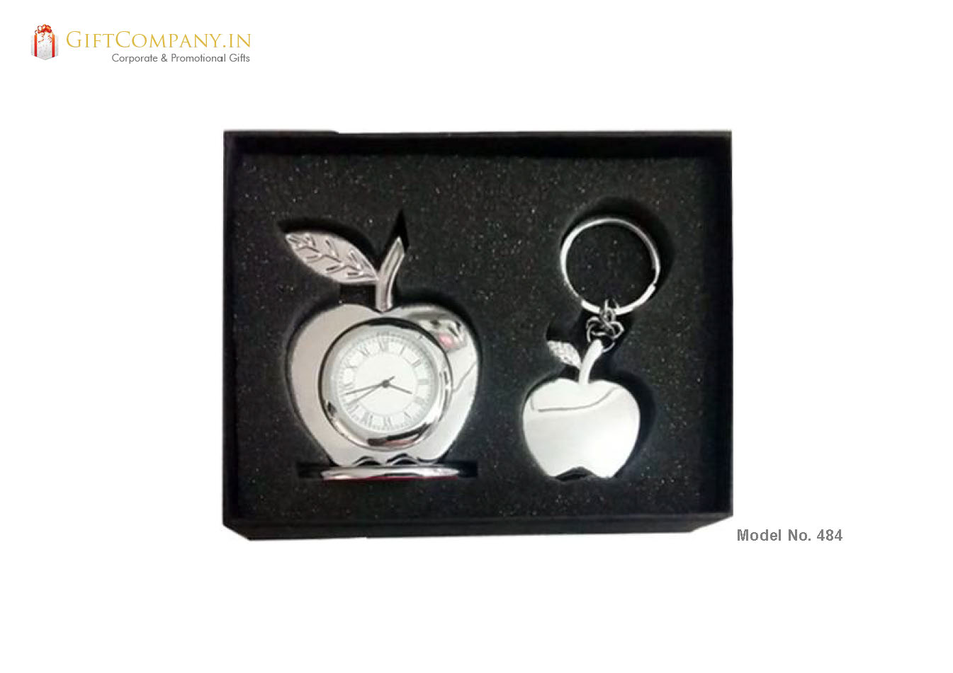 Gift Set - Apple Key Chain and Clock » Corporate Promotional Gifts