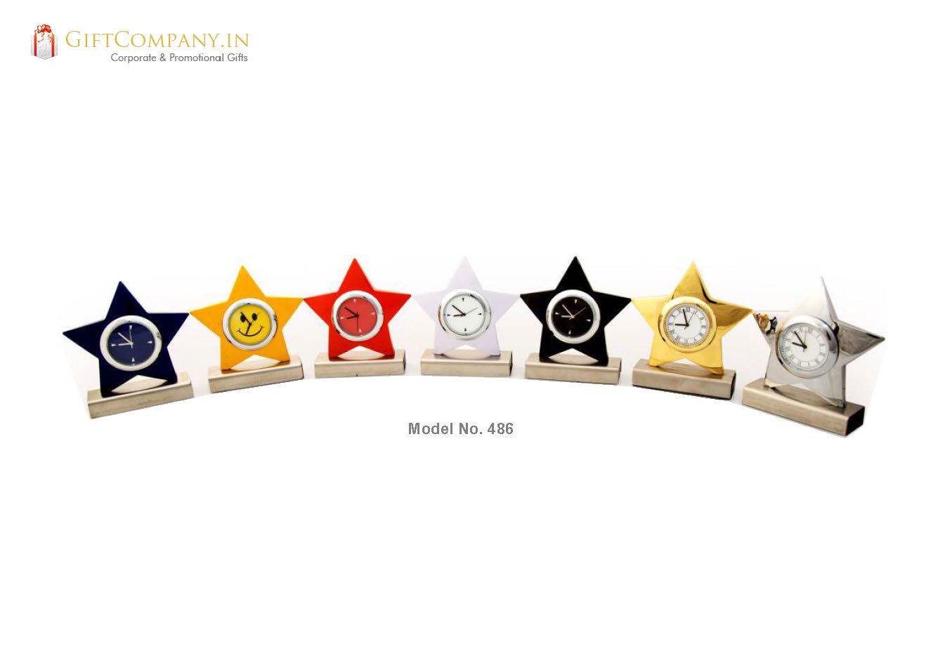 Star Desktop Clock - Model 487