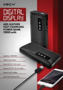 Digital Display 11000mah Powerbank