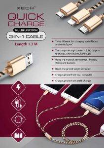 Quick Charge Multifunction