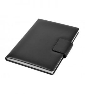 A5 - Personal Notebook with Magnetic Flap - Black