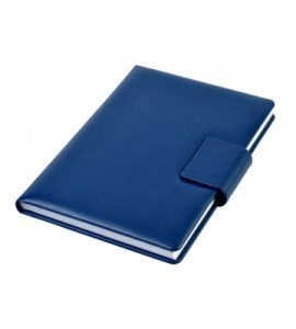 A5 - Personal Notebook with Magnetic Flap - Blue