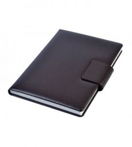 A5 - Personal Notebook with Magnetic Flap - Dark Brown