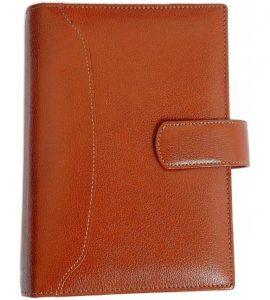 Premium Organizer Diary A5 YG1D66 Brown