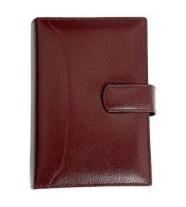 Premium Organizer Diary A5 YG1D66 Dark Brown