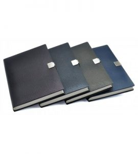 Personal Notebook with Clip Lock