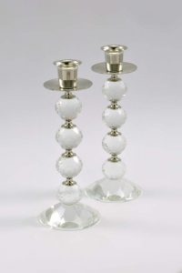 Candle Stand Silver CS1018