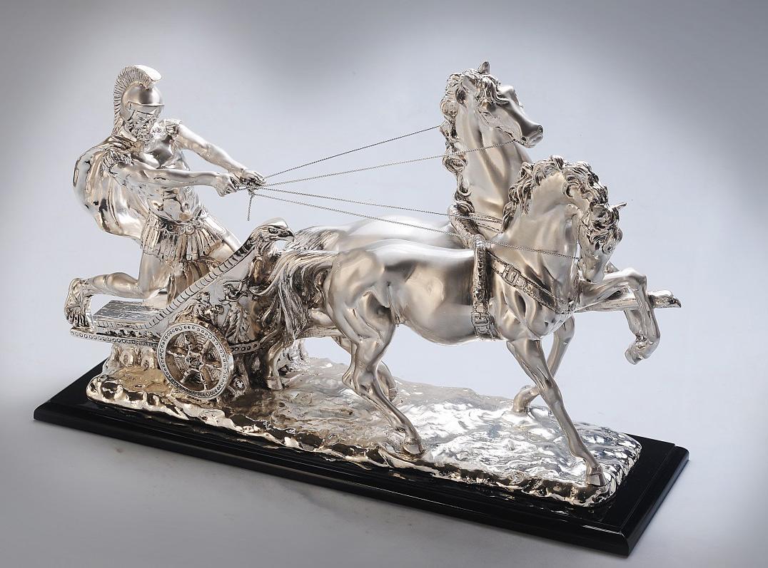 GI1023TIE - Warrior Horse Cart