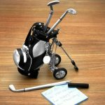Golf Trolley with Grass